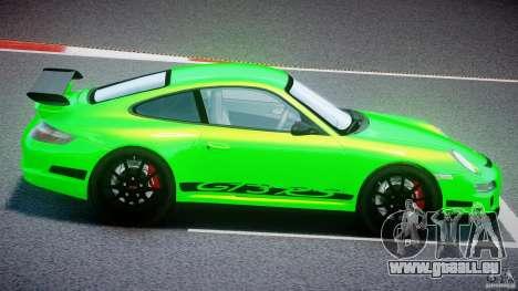 Porsche 997 GT3 RS pour GTA 4 est un côté