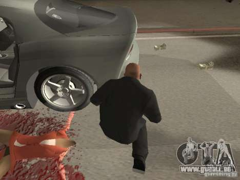 Nouvelles textures d'argent pour GTA San Andreas troisième écran