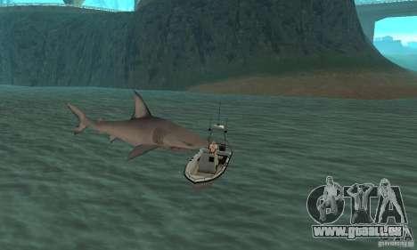 Shark Killer pour GTA San Andreas quatrième écran