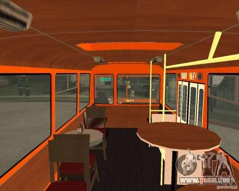 LIAZ-677 (moment de Café) pour GTA San Andreas sur la vue arrière gauche