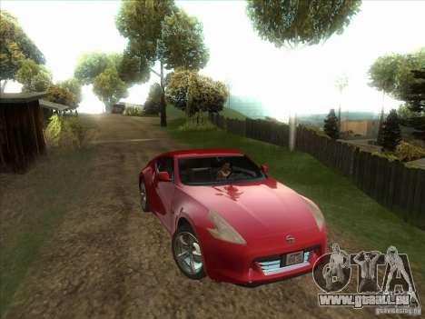Nissan 370Z v2.0 pour GTA San Andreas vue arrière