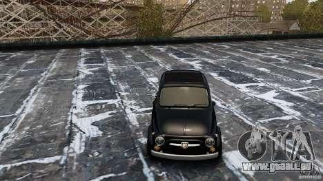 Fiat 500 695 Abarth pour GTA 4 est un droit