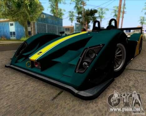 Caterham Lola SP300R pour GTA San Andreas vue de droite