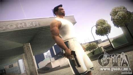 Weapon Pack by GVC Team pour GTA San Andreas sixième écran
