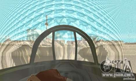 De-Havilland-Vampire ver 2.0 pour GTA San Andreas vue arrière