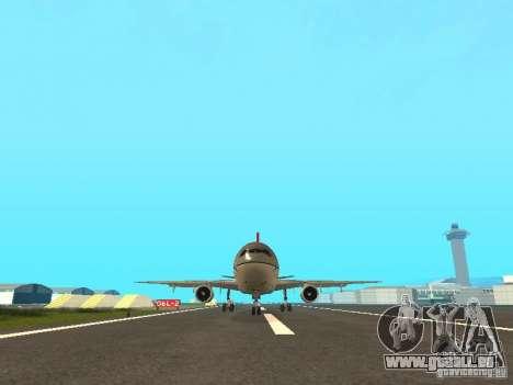 McDonell Douglas DC 10 Nortwest Airlines für GTA San Andreas linke Ansicht