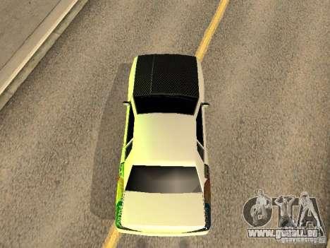 Elégie de Foresto_O pour GTA San Andreas vue intérieure