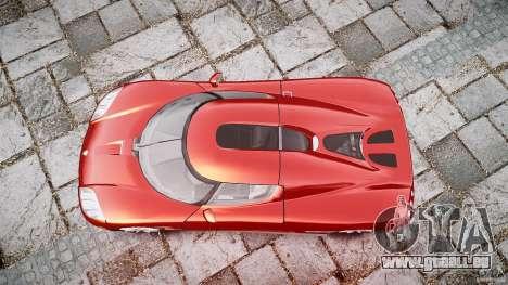 Koenigsegg CCX v1.1 pour GTA 4 est un côté