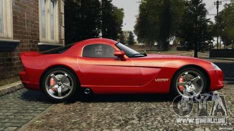 Dodge Viper SRT-10 Coupe pour GTA 4 est une gauche