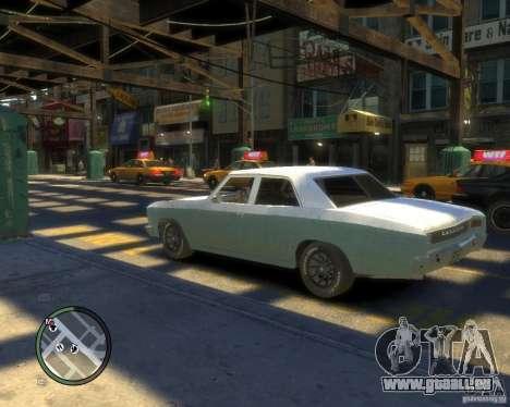 Chevrolet Chevelle 1966 pour GTA 4 est une gauche