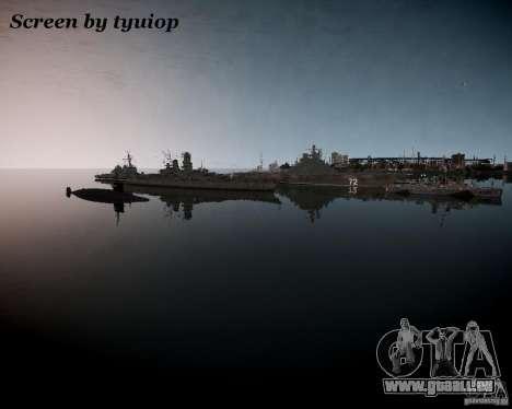 Marine pour GTA 4 troisième écran