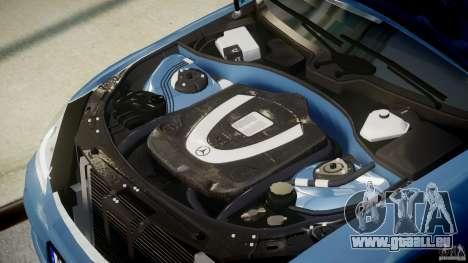 Mercedes-Benz S63 AMG [Final] pour GTA 4 vue de dessus