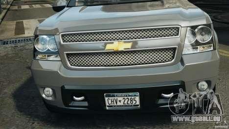 Chevrolet Suburban GMT900 2008 v1.0 für GTA 4 Innen