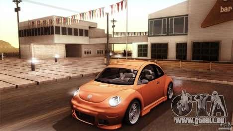Volkswagen Beetle RSi Tuned für GTA San Andreas Motor