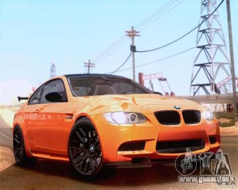 BMW M3 GT-S 2011 pour GTA San Andreas