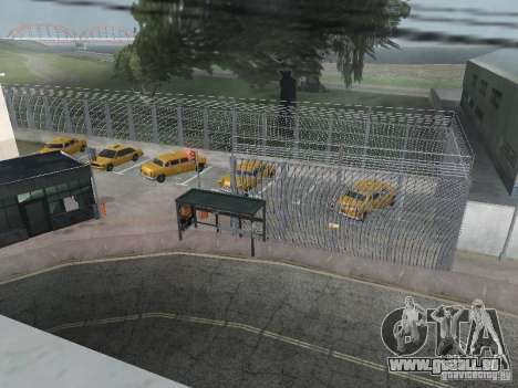 Le premier taxi parc version 1.0 pour GTA San Andreas deuxième écran