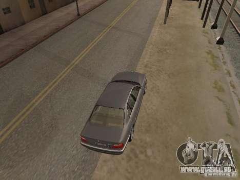 BMW 740 pour GTA San Andreas vue de droite