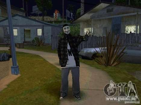 Le nouveau Anonymus Grove pour GTA San Andreas deuxième écran