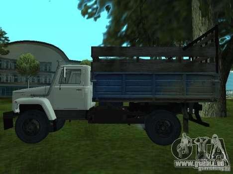GAZ 3309 pour GTA San Andreas laissé vue