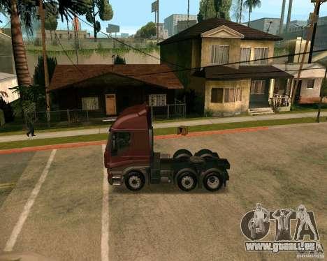 Iveco Stralis pour GTA San Andreas laissé vue