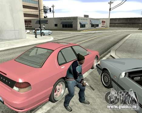 Capot du système pour GTA San Andreas sixième écran