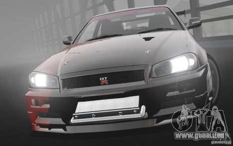 Nissan Skyline R34 Evil Empire pour GTA 4 est une gauche
