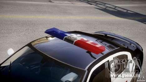 Dodge Charger SRT8 Police Cruiser pour GTA 4 est un côté