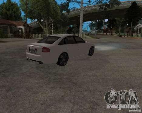 Audi RS6 (A6) pour GTA San Andreas vue de droite