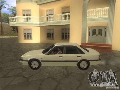 Mazda 626 DC 1986 pour GTA San Andreas laissé vue