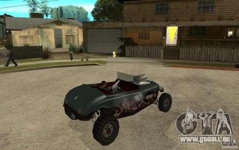 Deuce Brutal Legend pour GTA San Andreas vue de droite