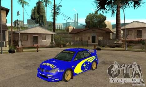 Subaru Impreza STi WRC wht1 pour GTA San Andreas laissé vue