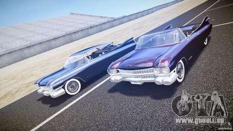 Cadillac Eldorado 1959 interior black pour GTA 4