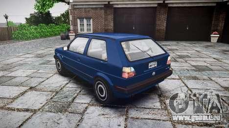 Volkswagen GOLF MK2 GTI pour GTA 4 est un côté