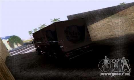 Volvo F10 pour GTA San Andreas laissé vue