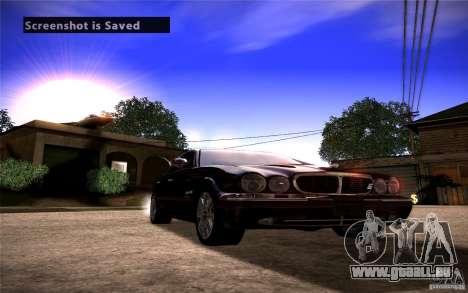 Jaguar Xj8 pour GTA San Andreas vue de droite