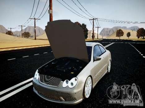 Mercedes-Benz CLK63 AMG Final pour GTA 4 est un droit