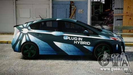 Toyota Prius 2011 PHEV Concept für GTA 4 Innenansicht