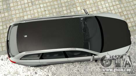 Audi RS6 Avant 2010 Carbon Edition pour GTA 4 est une vue de dessous