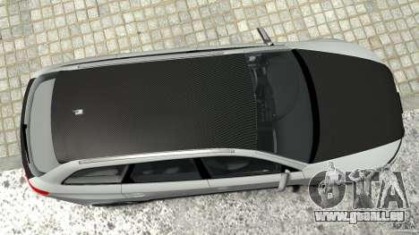 Audi RS6 Avant 2010 Carbon Edition für GTA 4 Unteransicht
