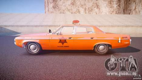 AMC Matador Hazzard County Sheriff [ELS] pour GTA 4 est une gauche