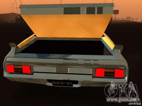 Ford Falcon XB Coupe Interceptor für GTA San Andreas Rückansicht