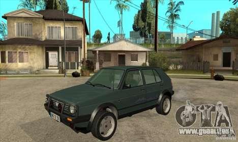 Volkswagen Golf Country MkII Syncro 4x4 1991 für GTA San Andreas
