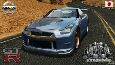 Nissan GT-R 35 rEACT v1.0 für GTA 4