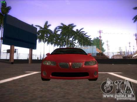 Pontiac FE GTO pour GTA San Andreas laissé vue