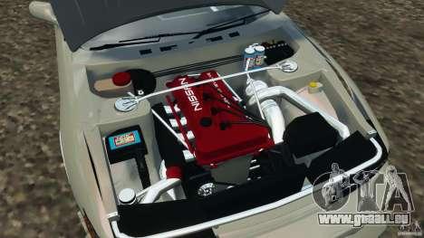 Nissan Silvia S13 DriftKorch [RIV] für GTA 4 Seitenansicht