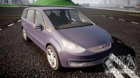 Ford Galaxy S-Max pour GTA 4 Vue arrière