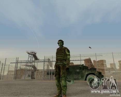 Tom Clancys Ghost Recon pour GTA San Andreas troisième écran