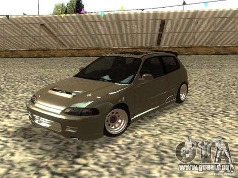 Honda Civic EG6 JDM pour GTA San Andreas