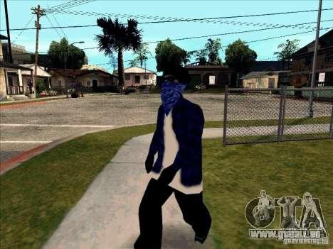 Crips Gang pour GTA San Andreas quatrième écran