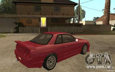 Nissan GTS-T 32 Beta pour GTA San Andreas vue de droite